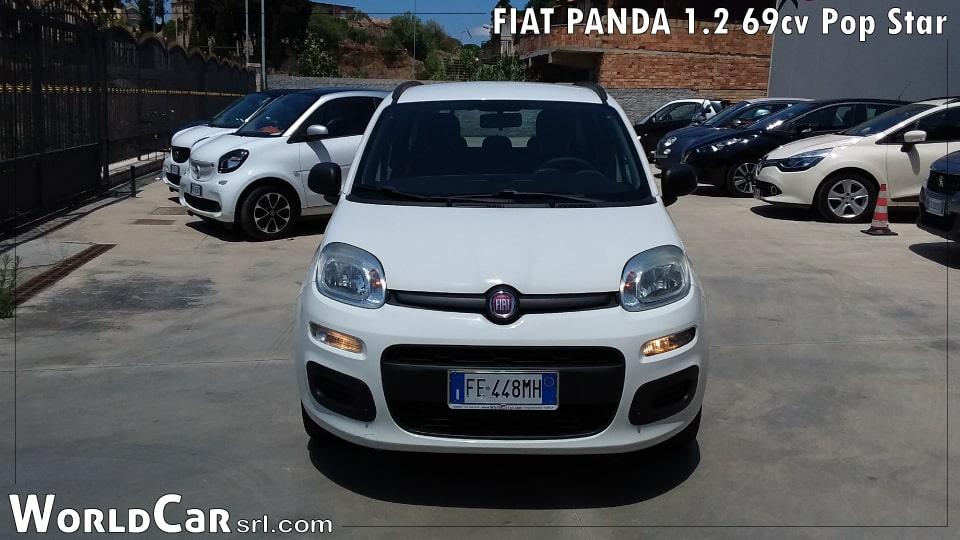 FIAT PANDA 1.2 69cv Pop Star