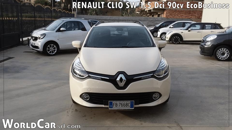 RENAULT CLIO SW 1.5 Dci 90cv EcoBusiness