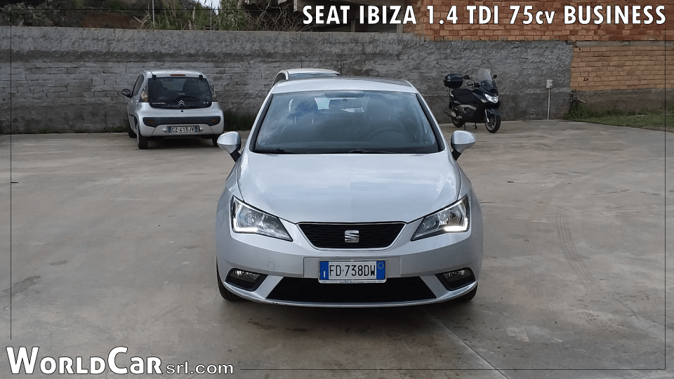 SEAT IBIZA 1.4 TDI 75cv BUSINESS
