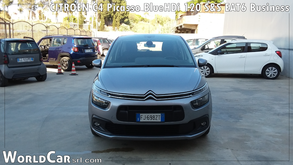 CITROEN C4 Picasso BlueHDi 120 S&S EAT6 Business