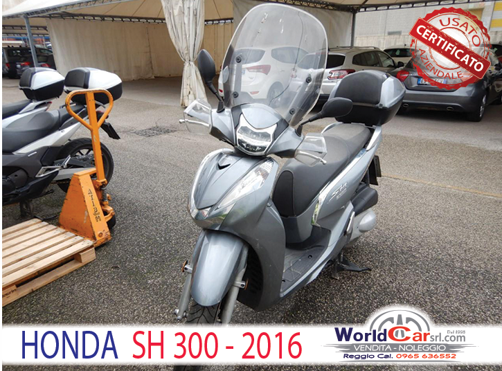 HONDA SH300my15
