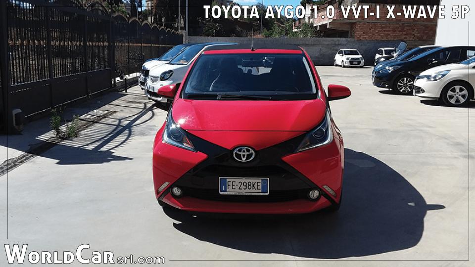 TOYOTA AYGO 1.0 VVT-I X-WAVE 5P