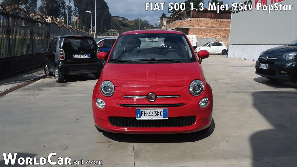 FIAT 500 1.3 Mjet 95cv PopStar