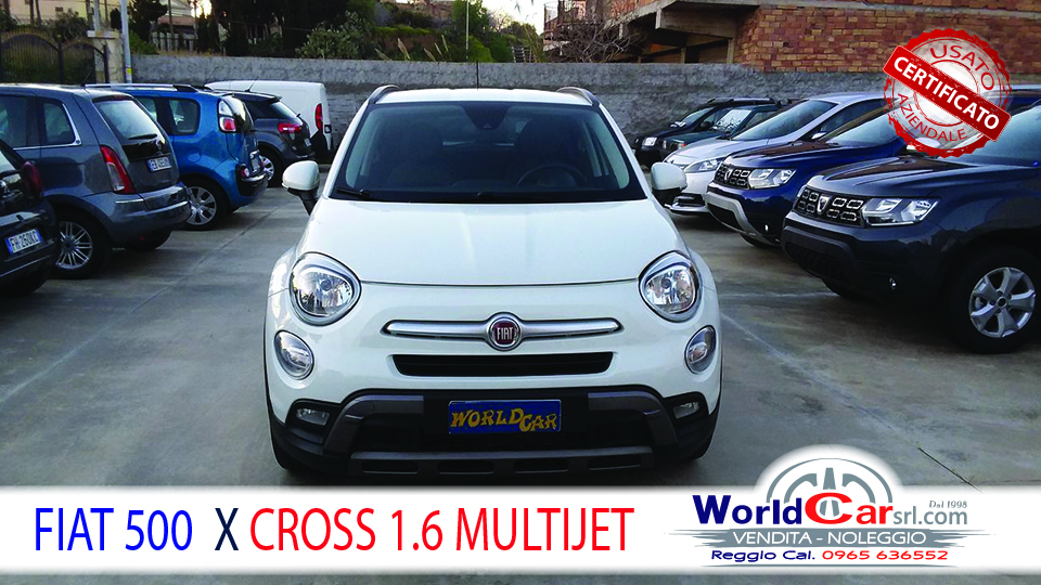 FIAT 500 X CROSS1.6 MULTJET