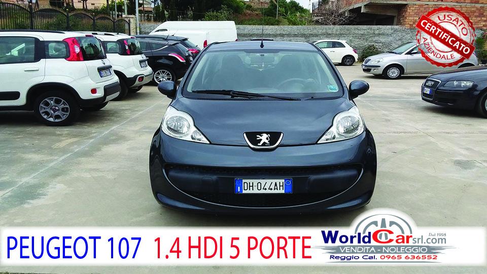 PEUGEOT 107 1.4 HDI 55CV