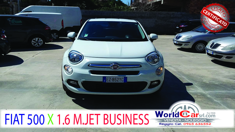 FIAT 500 X 1.6 MULTIJET BUSINESS
