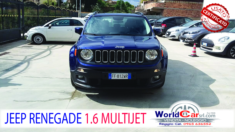 JEEP RENEGADE LIMITED 1.6 MULTJET 120CV