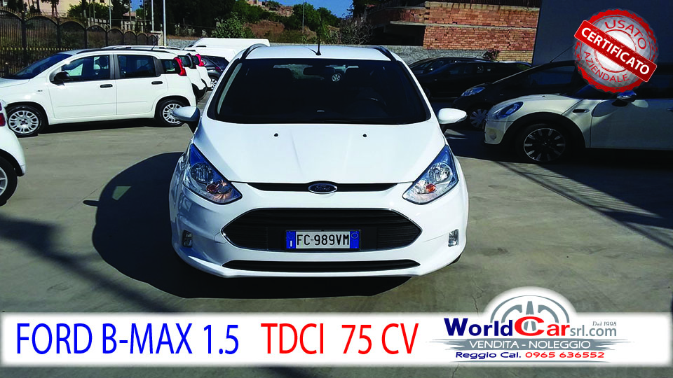FORD B-MAX  1.5 TDCI 75 CV BUSINESS
