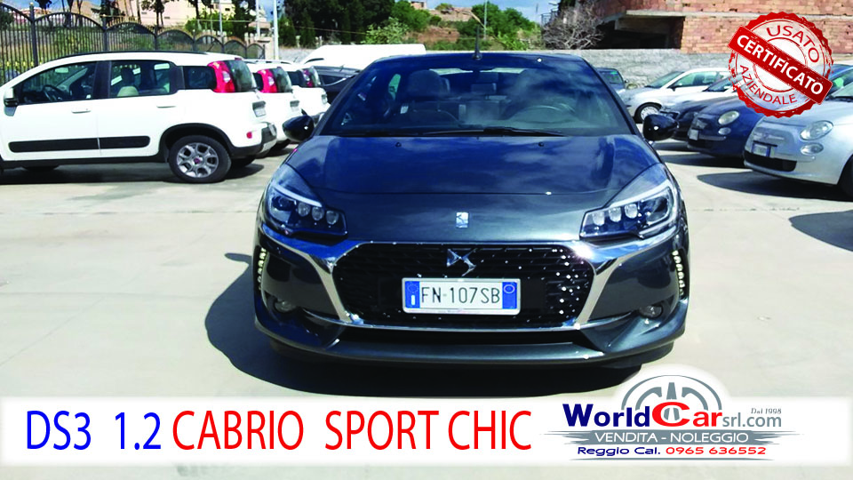 CITROEN DS3 CABRIO SPORT CHIC 110CV