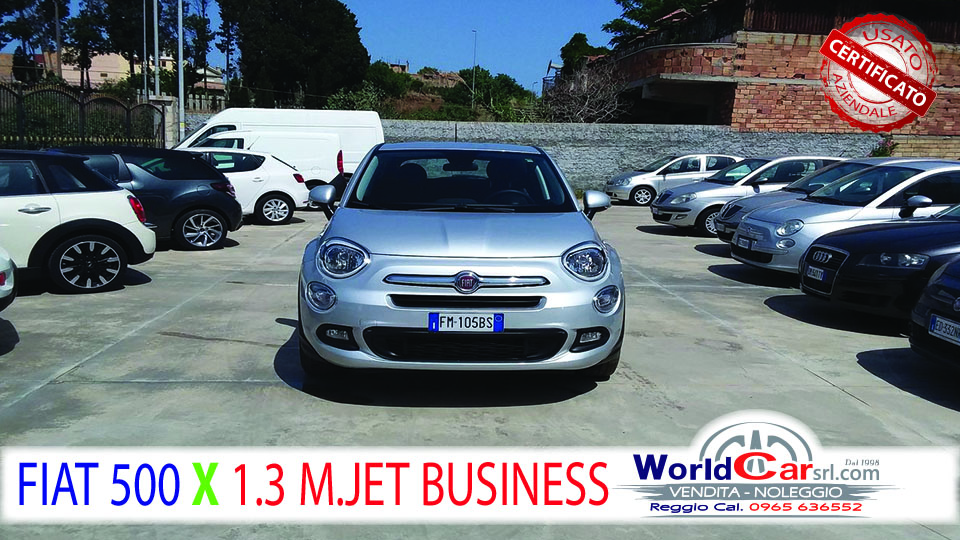 FIAT 500 X 1.3 95CV MULTJET BUSINESS