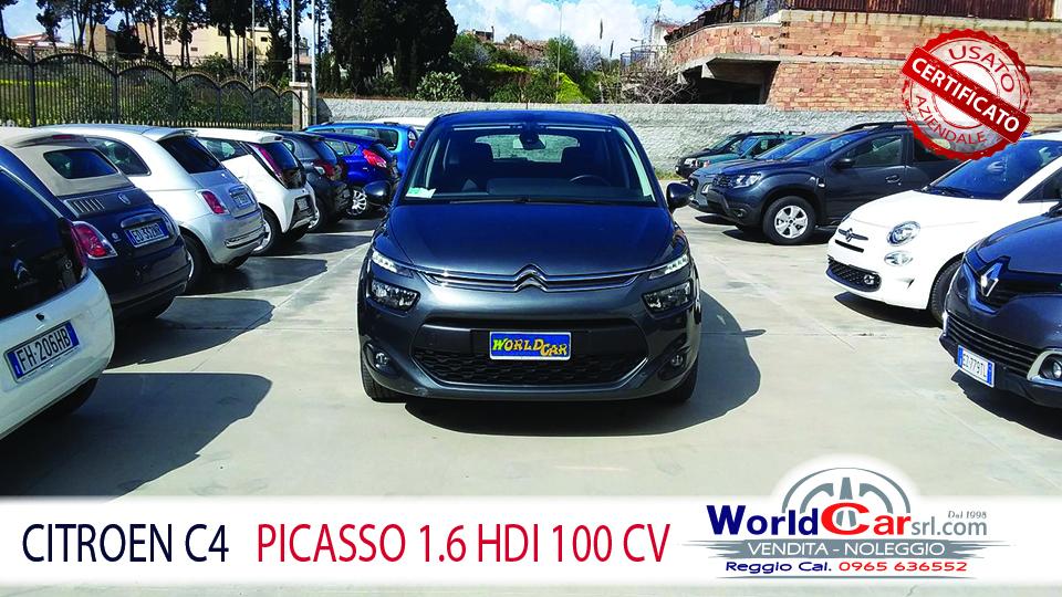 CITROEN C4 PICASSO 1.6 HDI 100
