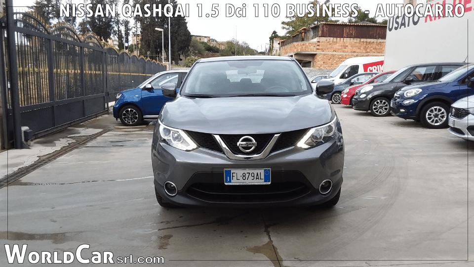 NISSAN QASHQAI1.5Dci110 BUSINESS - AUTOCARRO