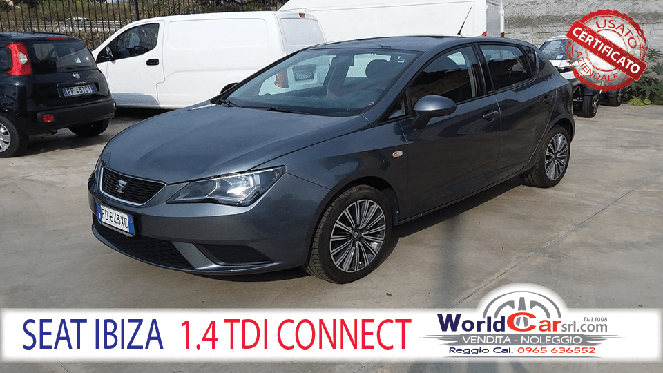 SEAT IBIZA 1.4 TDI CONNECT