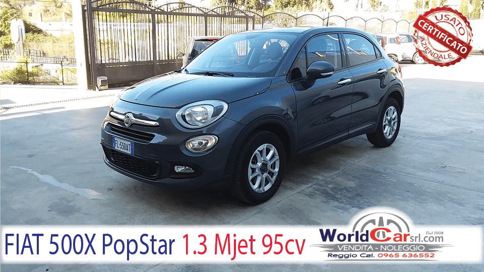 FIAT 500X Pop Star 1.3 Mjet 95cv