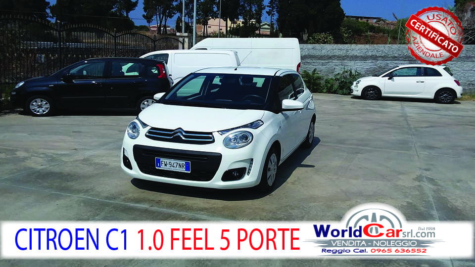 CITROEN NEW C1  FEEL 5 PORTE