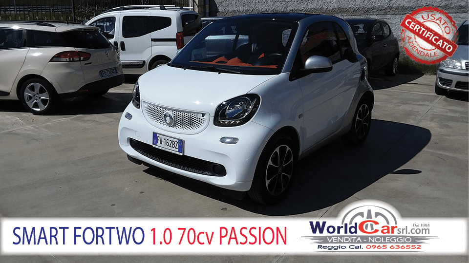 SMART FORTWO 1.0 70cv PASSION