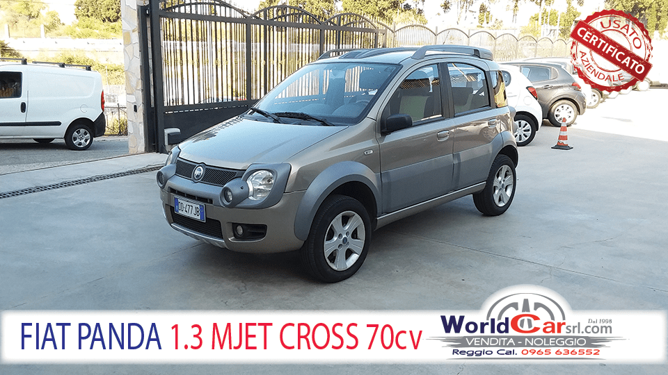 FIAT PANDA 1.3 MULTIJET 70cv CROSS