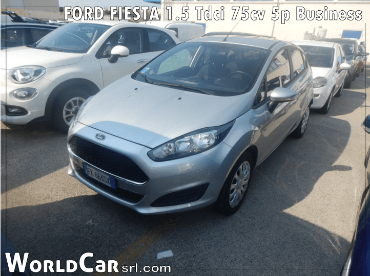 FORD FIESTA 1.5 Tdci 75cv 5p Business