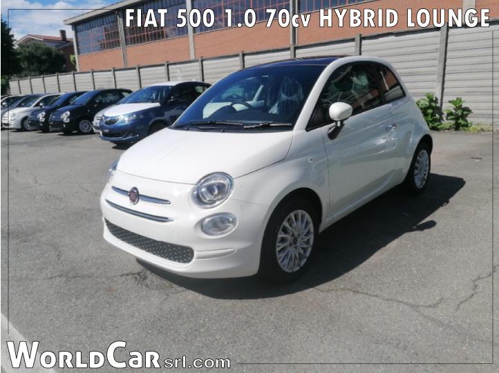 FIAT 500 1.0 70cv HYBRID LOUNGE