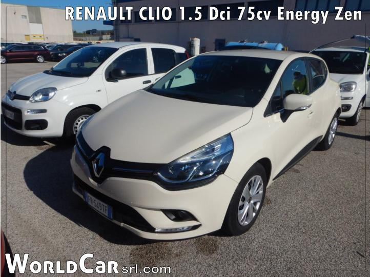 RENAULT CLIO1.5Dci75cvEnergy Zen