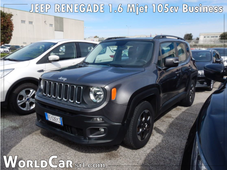 JEEP RENEGADE 1.6 Mjet 105cv Business