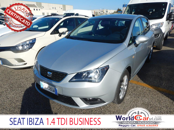 SEAT IBIZA 1.4 Tdi Business